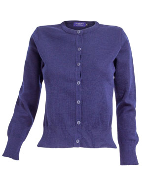 Ladies Round Neck Cardigan