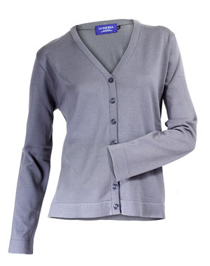 Ladies Vneck Cardigan